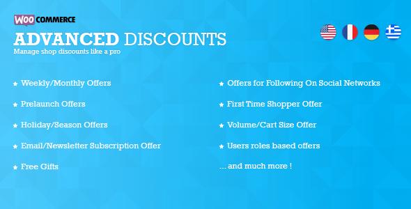 advanced discounts