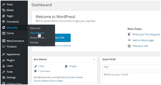 wordpress product list