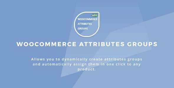Woocommerce Attributes Groups